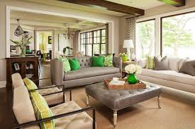 home design homey and warm living room areawith elegant cream
