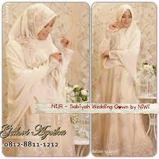 wedding dress syari 19 gaun pengantin muslimah syar i dan indah elegantria