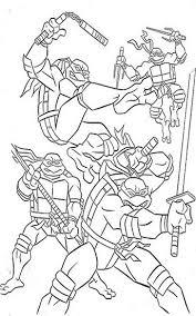 teenage mutant ninja turtles kids coloring pages and free