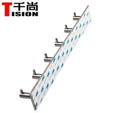 tision self adhesive bathroom stainless steel robe hook wall mount