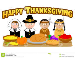 thanksgiving pilgrims and indians eps stock vector image 16211213
