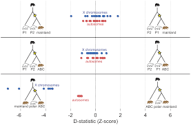 genomic evidence for island population conversion resolves