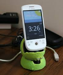 diy phone charger how to make a diy phone charger stand using tennis balls tutorial geek
