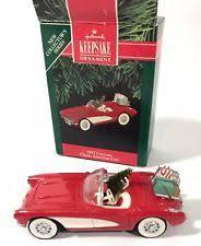 hallmark 1957 corvette ebay