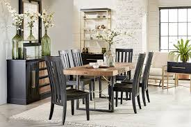 Black Dining Room Set With Bench Kitchen Dinette Sets 7 Dining Set With Bench 5 Dining