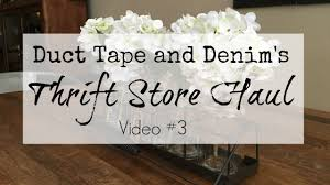 Home Decor Thrift Store Thrift Store Haul Video 3 Home Decor Youtube