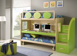 two floor bed bedroom sweet colorful room decorating annsatic