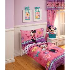 Toddler Girls Bedding Sets by Disney Baby Toddler Girls Bedroom With Minnie Mouse Bedding Set