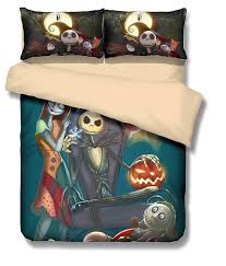 the nightmare before ghost 3d bedding set print