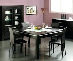 black contemporary dining table black dining room table set black contemporary dining table black