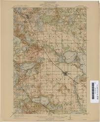Minnesota Map Minnesota Historical Topographic Maps Perry Castañeda Map