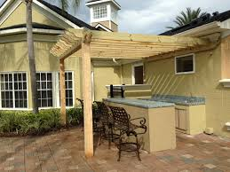 Pergola Outdoor Kitchen Outdoor Kitchen Cover My Florida Pergolas