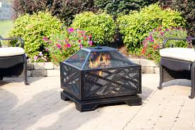 Pictures Of Fire Pits In A Backyard by Amazon Com Pleasant Hearth Martin Extra Deep Wood Burning Fire