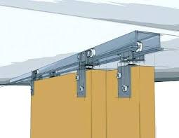 Bypass Closet Door Hardware Closet Door Track System Sliding Closet Door Hardware Bypass Track