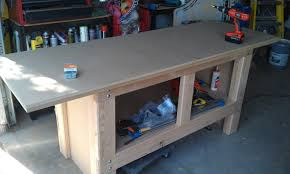 finally time for a real workbench