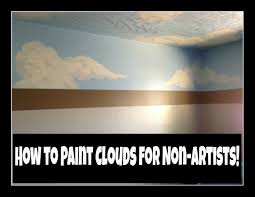 how to paint clouds for non artists diy in real life