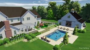 Barn Design by Swimming Pool Landscape Design And Party Barn Design Youtube