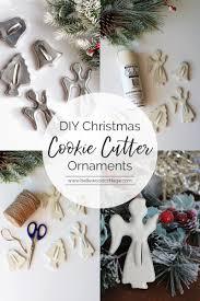 diy ornaments with vintage cookie cutters bellewood cottage