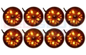 ledglow orange pod smd led lights