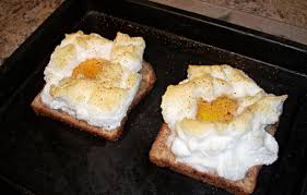 eggs on a cloud for one or two toaster oven recipe genius kitchen
