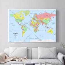 Framed World Map by Online Get Cheap Quotes Framed Aliexpress Com Alibaba Group