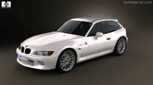 bmw z3 wagon bmw z3 coupe e36 8 1999 by 3d model store humster3d com