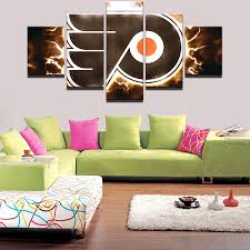 5 pieces abstract home decor print canvas oil painting vintage