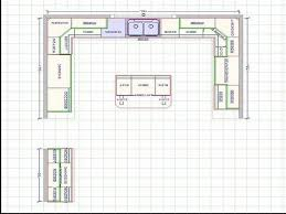 kitchen cabinets layout