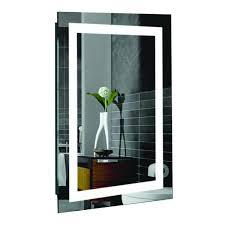 Lighted Bathroom Mirror by Creators Civis Cvma2436led Led Malisa Lighted Bathroom Mirror