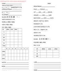 image result for labor and delivery nurse report sheet l u0026d nurse