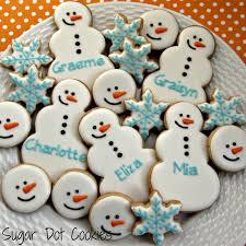 order christmas winter sugar cookies custom decorated