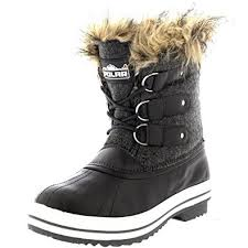 womens boots rubber sole amazon com polar products womens lace up rubber sole