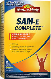 amazon com nature made sam e complete 400mg 36 tablets health amazon com nature made sam e complete 400mg 36 tablets health personal care