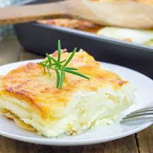cuisiner la ricotta recette gratin dauphinois à la ricotta facile rapide