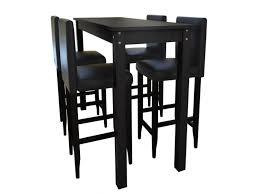 table haute cuisine conforama lot de 4 tabourets de bar avec table haute helloshop26 1202004