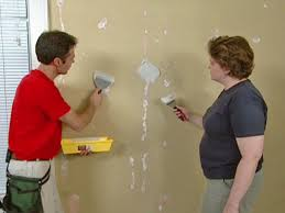 How To Get Scuff Marks Off Walls by How To Repair Common Problems On Walls Doors And Floors Diy