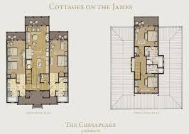 floor plans for cottages cottages on the james kingsmill resort williamsburg va
