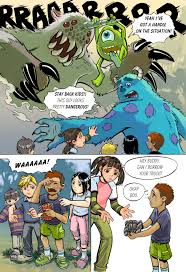 monsters sample pg 1 lazesummerstone deviantart