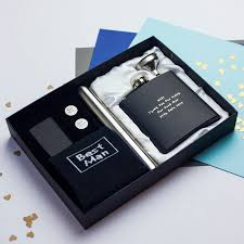 wedding gift boxes personalised luxury mens wedding gift box by metal moments