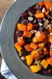 maple roasted butternut squash and beets recipe roasted