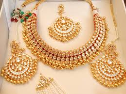 artificial gold jewellery bridal eid new style 2016