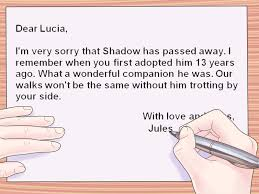 Sad Love Letters To Him How To Write A Sympathy Card 10 Steps With Pictures Wikihow