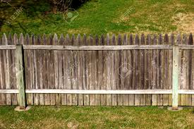 patio divine picket fence backyard fencing wooden boards and