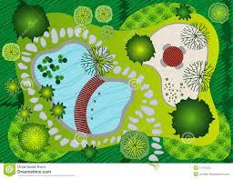 Garden Layout by Garden Layout Design Clipart
