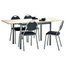 tables de cuisine table de cuisine en bois avec rallonge intacrieur grande table