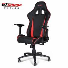 Red Leather Office Chair Gaming Seats Gt Omega Pro Racing Office Chair Black Next Red Leather