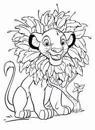 simba coloring page inspirational 4863