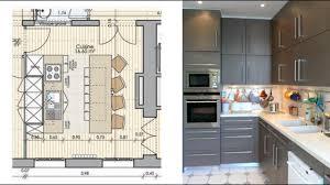 plans de cuisines ouvertes plan cuisine ouverte sur salle à manger cuisine en image
