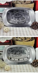 4pcs lot zakka vintage serving tray retro candy dish dried fruit