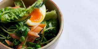 poached salmon fillet recipe with watercress great british chefs